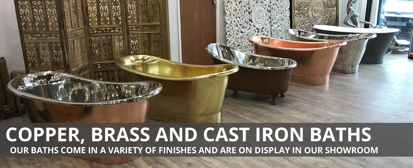Copper, Brass and Cast Iron Baths