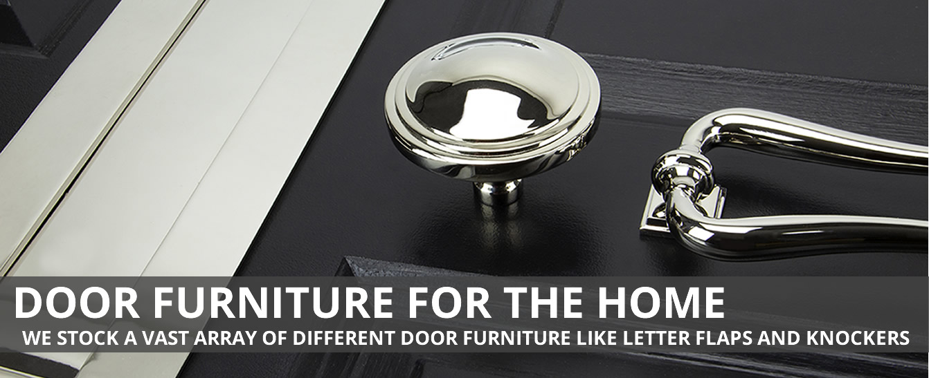Door furniture for the home