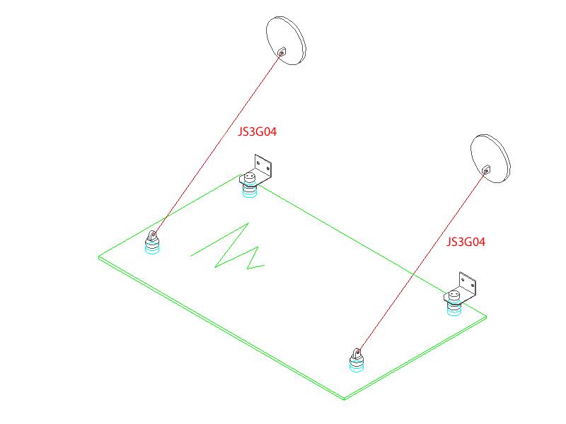 Glass Canopy Isometric